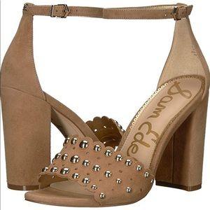 Sam Edelman studded block heel